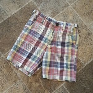 Gap boy's size 4 plaid shorts